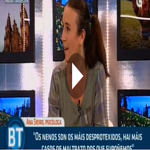 Contra el maltrato infantil, con Ana María Sieiro.