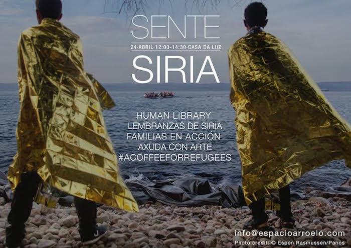 """""""Sente Siria"""", sensibilizar desde las personas para las personas, una iniciativa solidaria de nuestras colaboradoras de Espacio Arroelo y sus coworkers."""