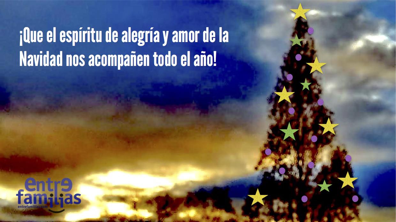 Entrefamilias os desea ¡Feliz Navidad!