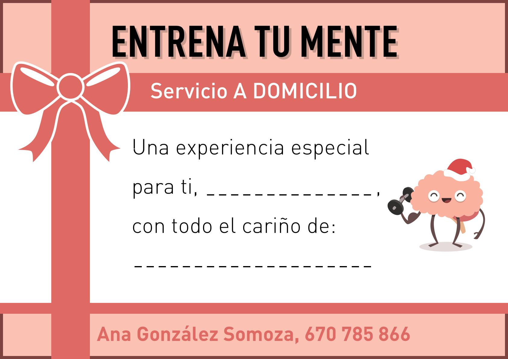 """Novedad en Vigo: Regala a tus mayores """"Entrena tu mente"""" a domicilio, con Ana González Somoza."""
