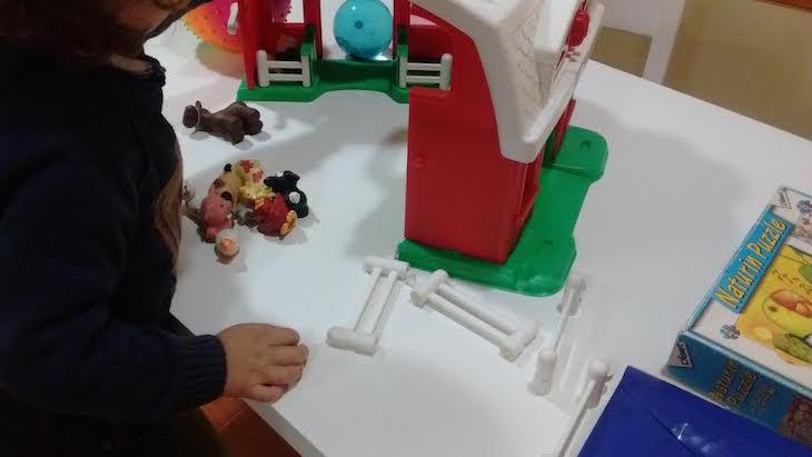"""En """"Diversión en familia"""" jugamos con la granja y los animales, por Ana González Somoza"""