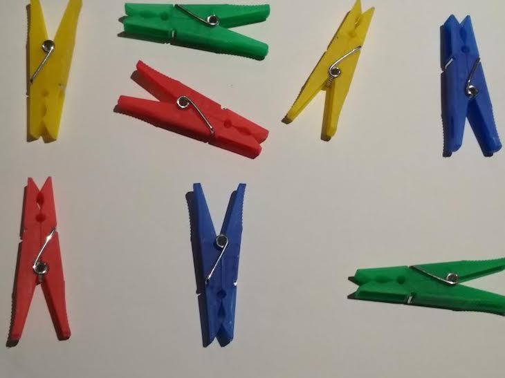 """Ideas """"Mentes Activas"""" 3:  Pinzas, memoria y más"""