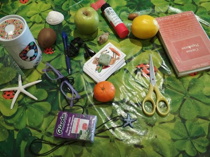 "Ideas ""Mentes Activas"" 10: Juego de memoria con objetos"