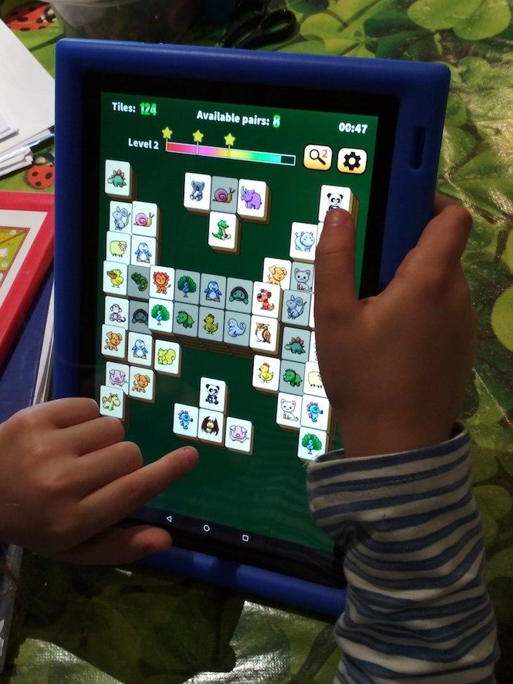 Una versión de Mahjong con animales.