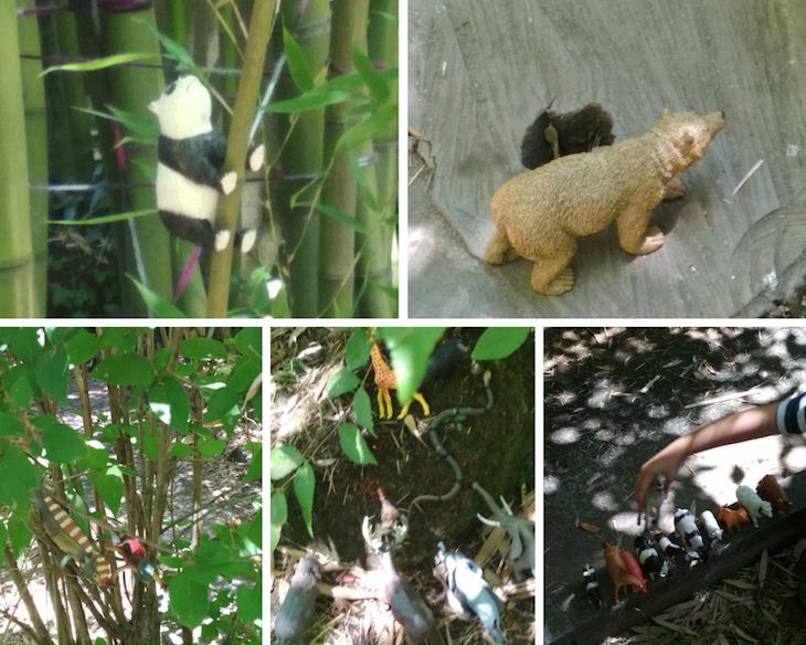 Animales que han tomado el jardín ...