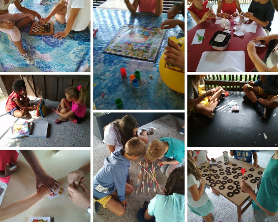 Aprendiendo y enseñando juegos de mesa.