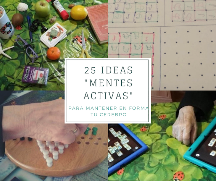 """25 Ideas """"Mentes Activas"""" para mantener tu cerebro en forma"""