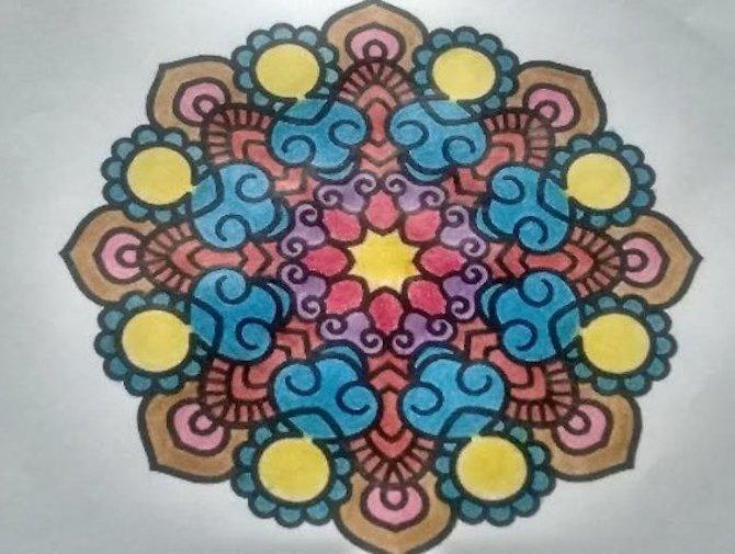"""Ideas """"Mentes Activas"""" 26: Mandalas y el Día de la Madre"""