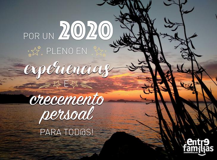 Por un 2020 pleno en experiencias e crecemento persoal para tod@s!